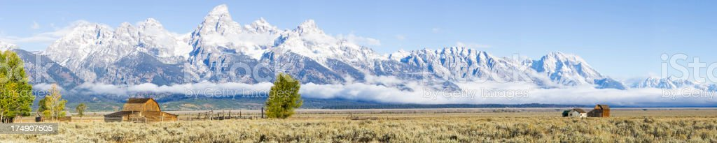 Grand Teton National Park royalty-free stock photo