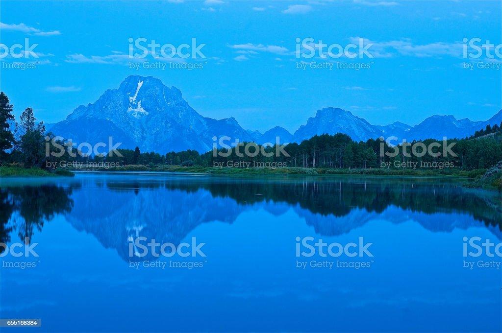Grand Teton National Park stock photo