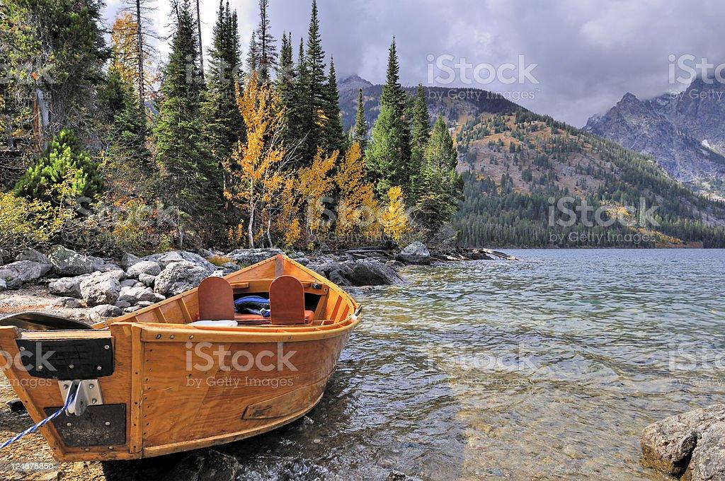 Grand Teton National Park Scenic royalty-free stock photo