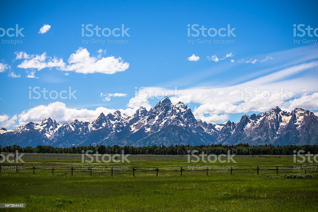 Grand Teton National Park, USA stock photo
