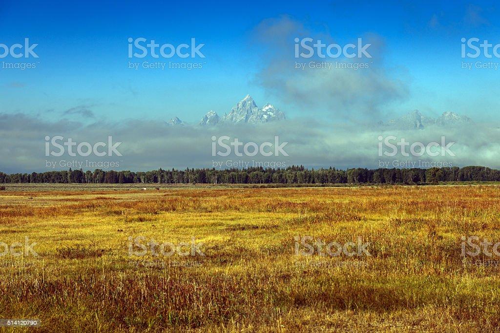 Grand Teton National Park, Wyoming USA stock photo