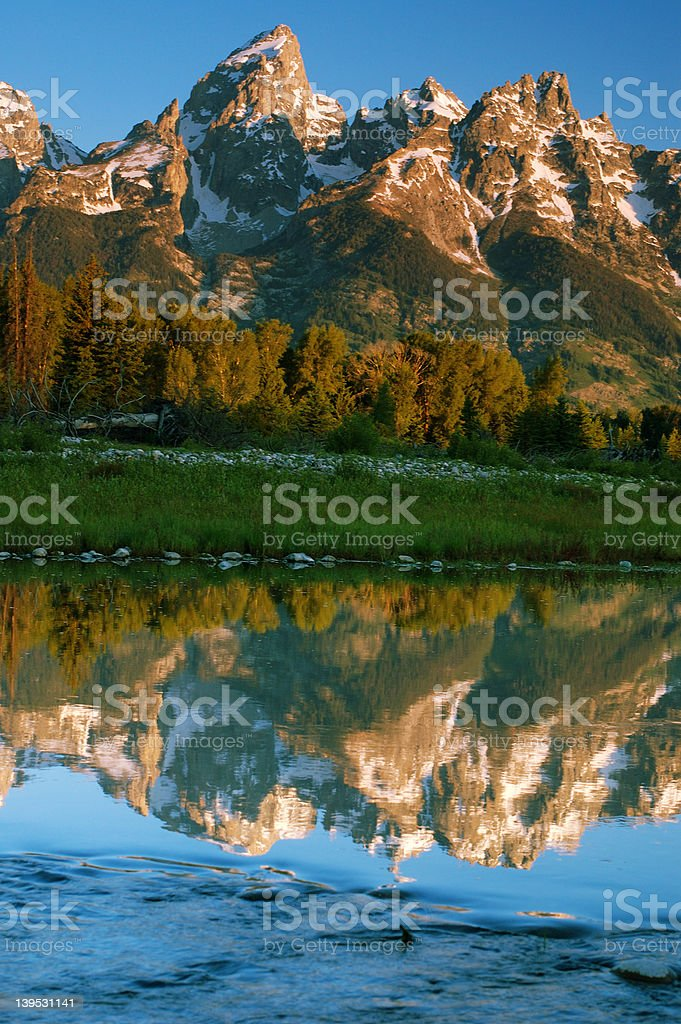 Grand Teton royalty-free stock photo