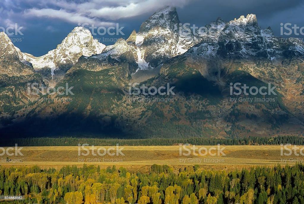 Grand Teton stock photo