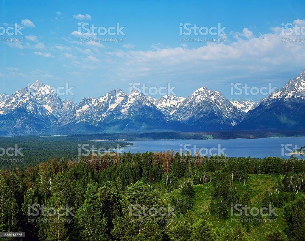 Grand Teton, Wyoming stock photo