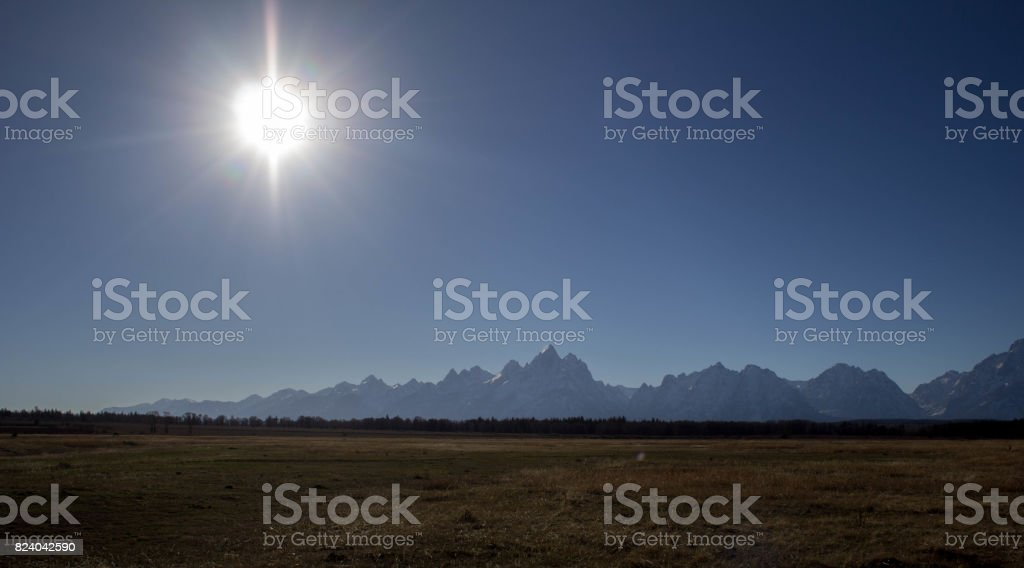 Grand Tetons National Park stock photo