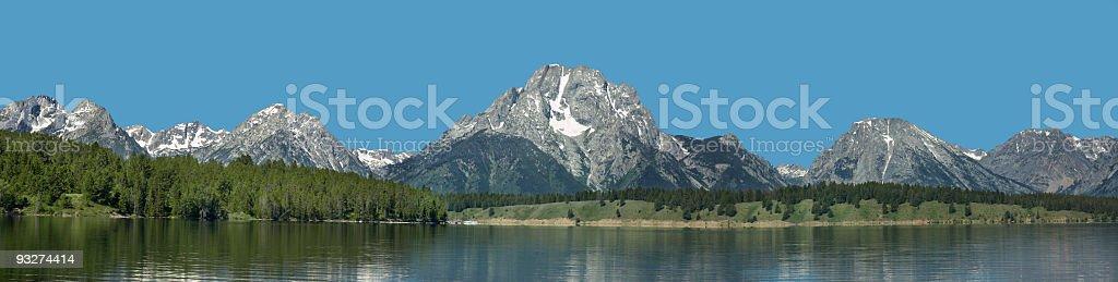Grand Tetons National Park royalty-free stock photo