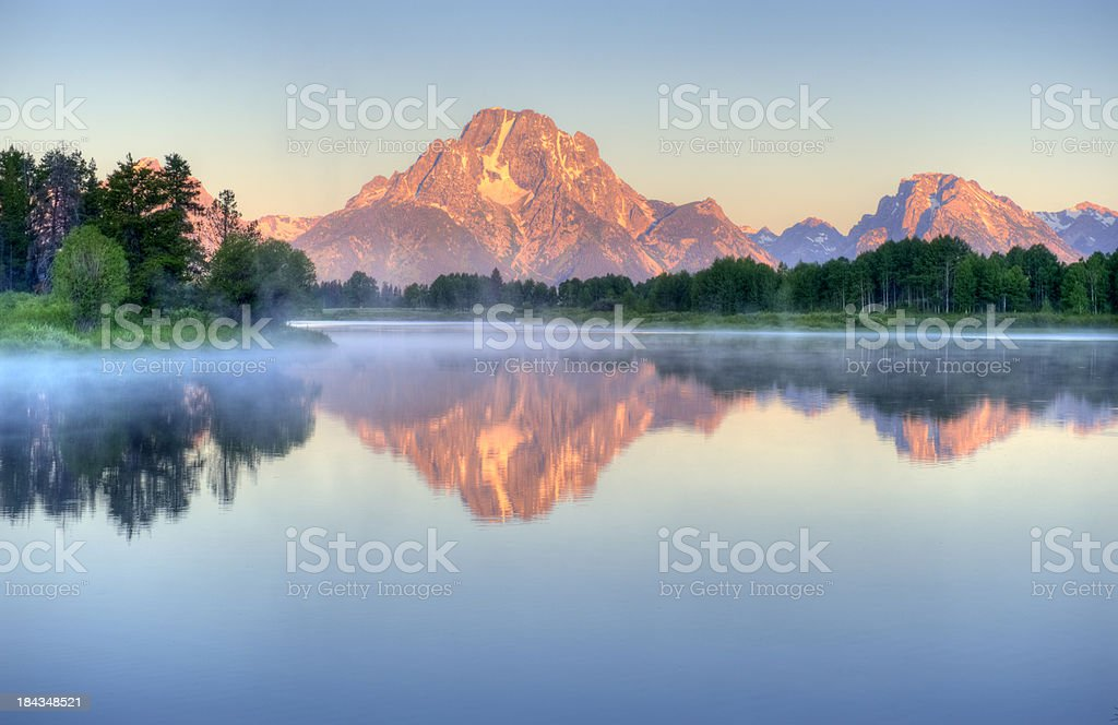 Grand Tetons royalty-free stock photo