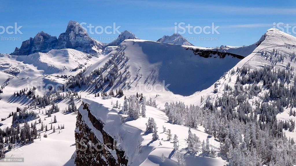 Grand Tetons stock photo