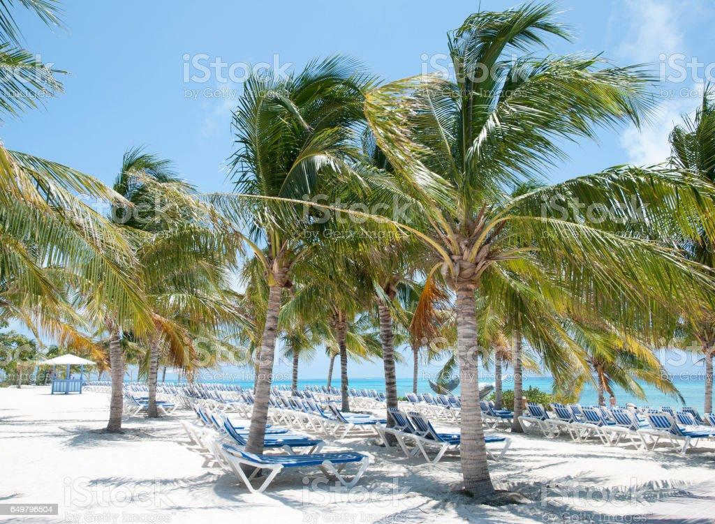 Grand Turk Beach stock photo