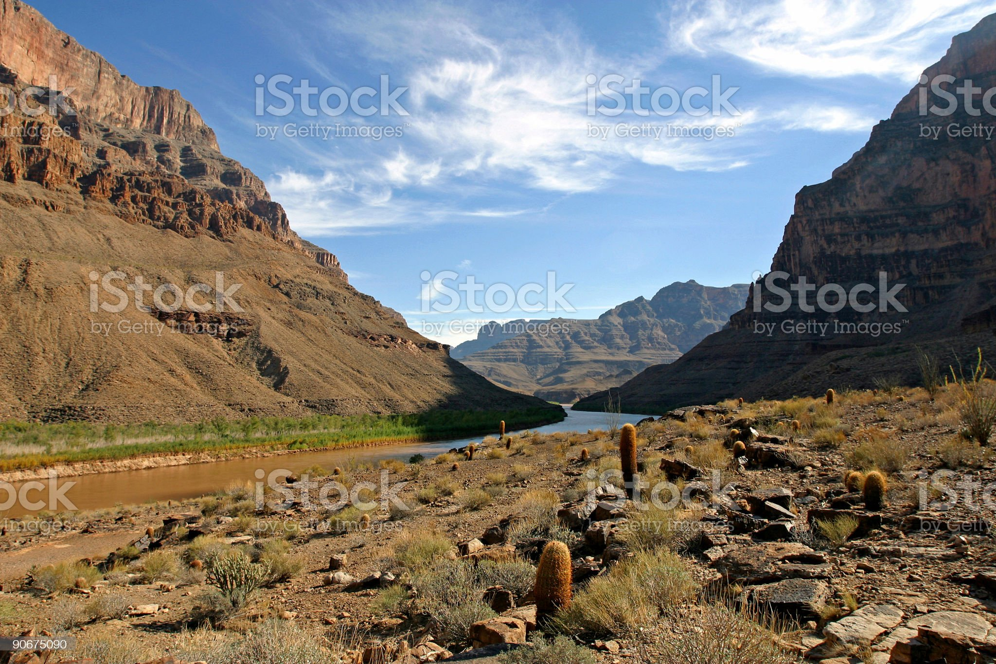 Grand Valley royalty-free stock photo