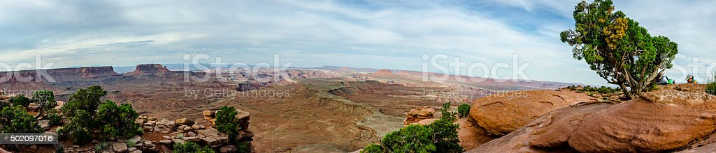 Grand View in Islands in the Sky.dng stock photo