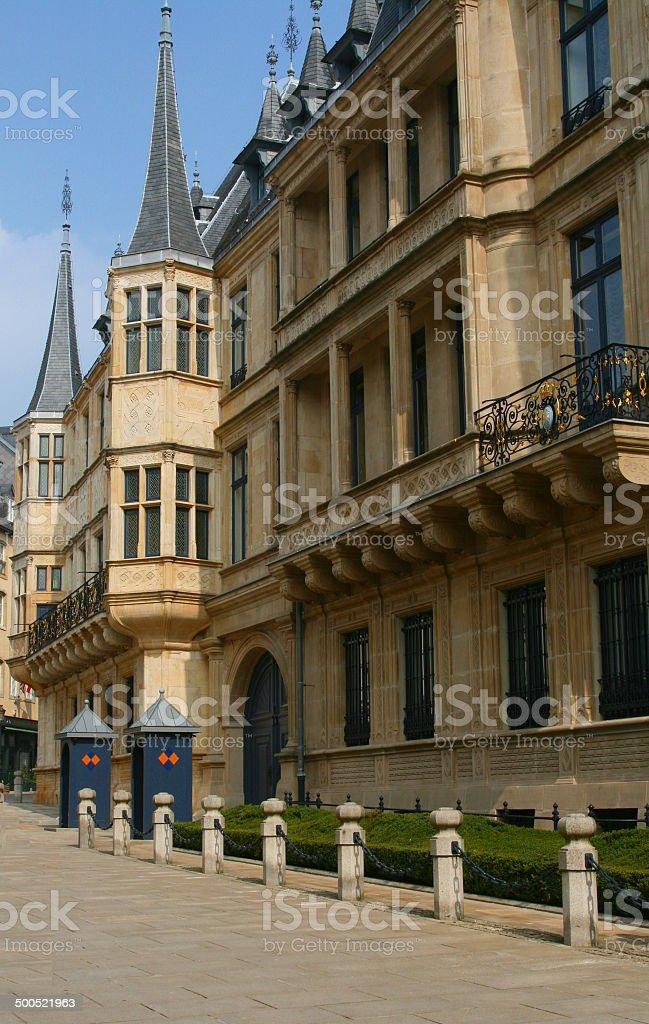 Grand-Duke's palace, Luxembourg stock photo