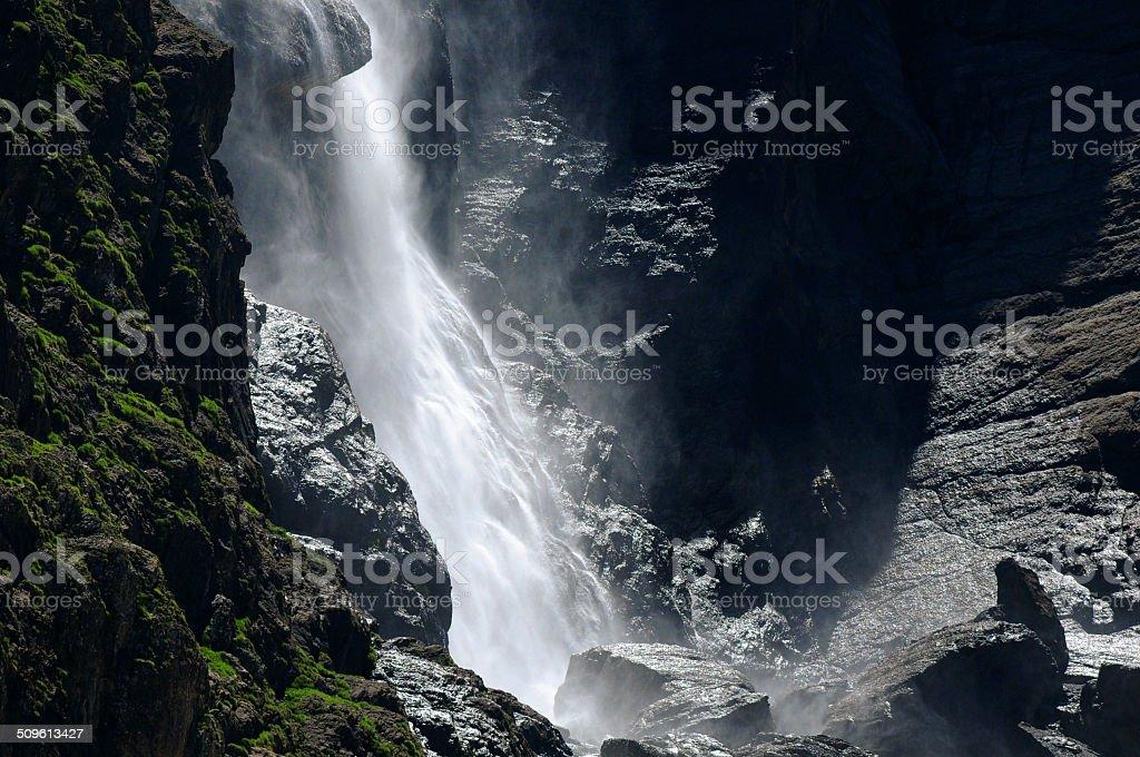 Grande cascade de Gavarnie stock photo