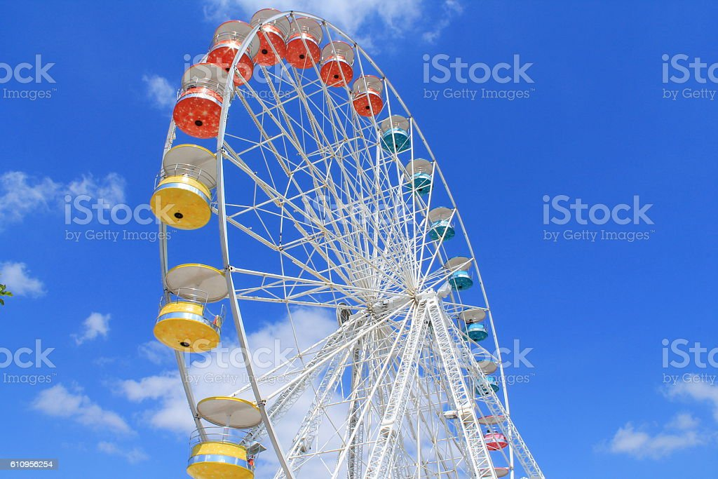 Grande roue de La Rochelle, France stock photo