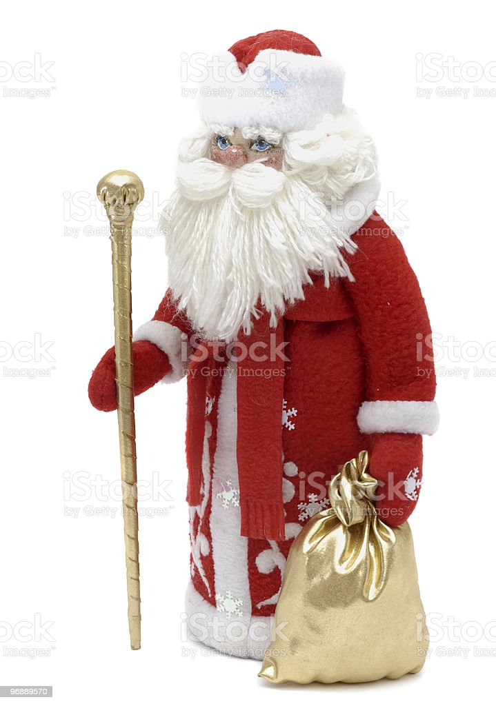 Grandfather Frost royalty-free stock photo