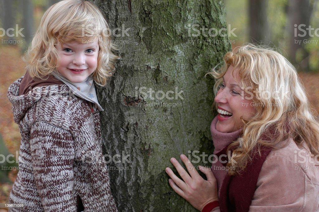 grandma and grandchild royalty-free stock photo