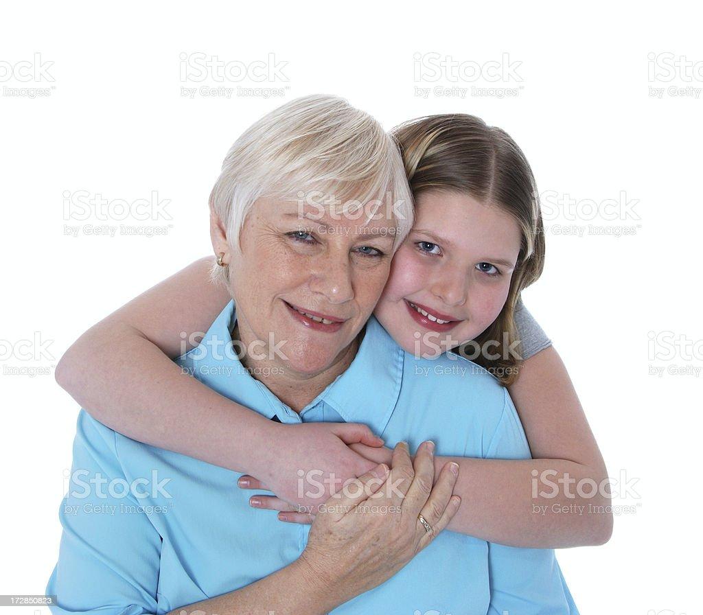Grandma I Love You royalty-free stock photo