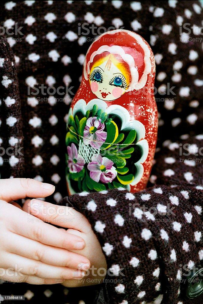 Grandma´s Babushka Doll royalty-free stock photo