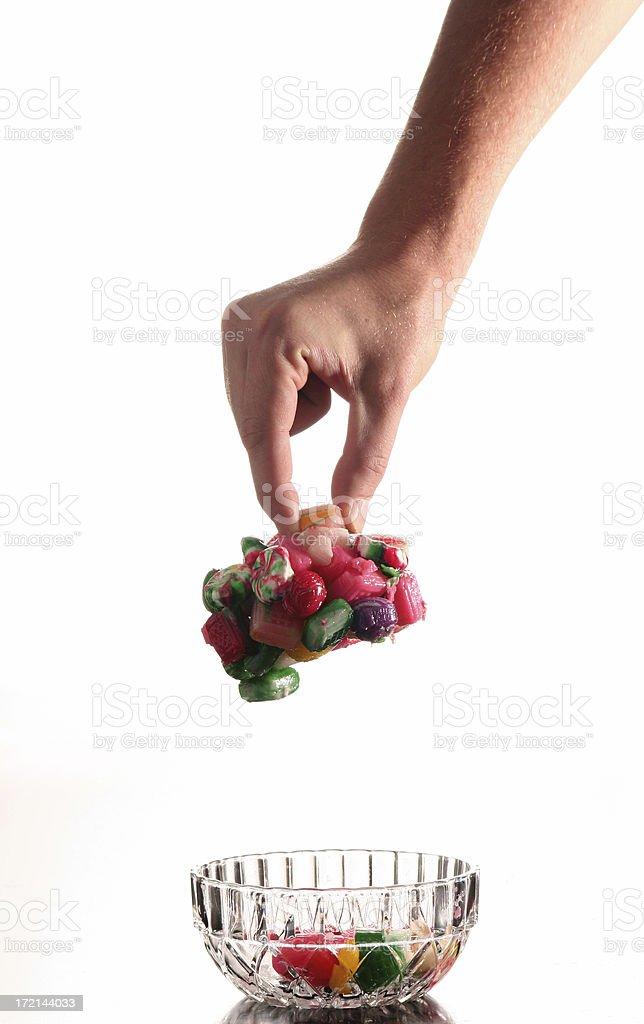 Grandma's Candy Dish stock photo