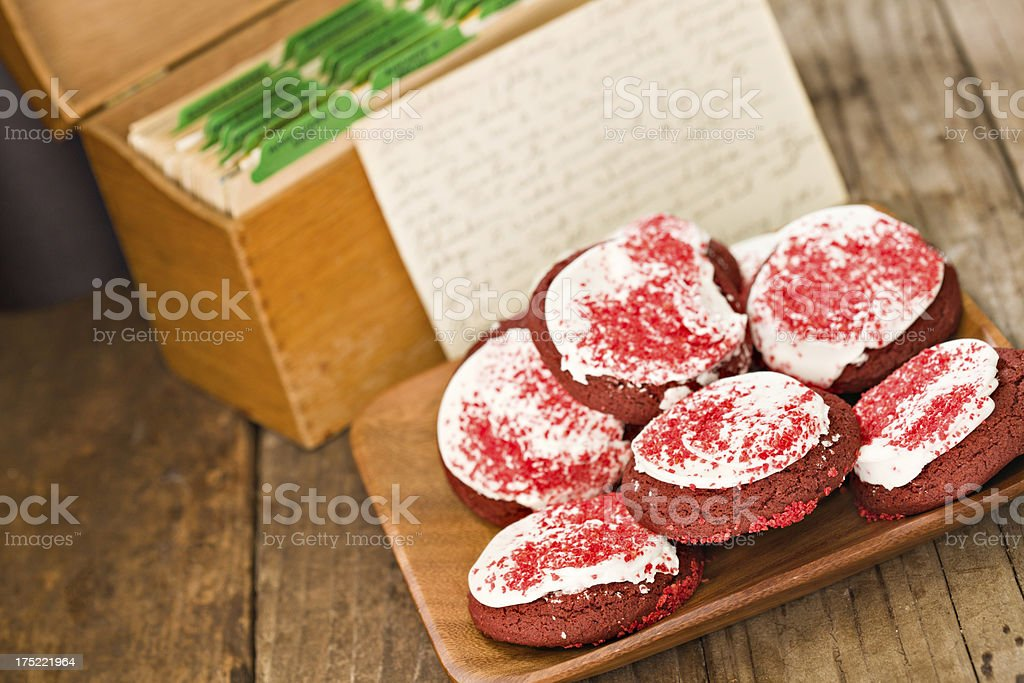 Grandmas Favorite Christmas Cookie Recipe royalty-free stock photo
