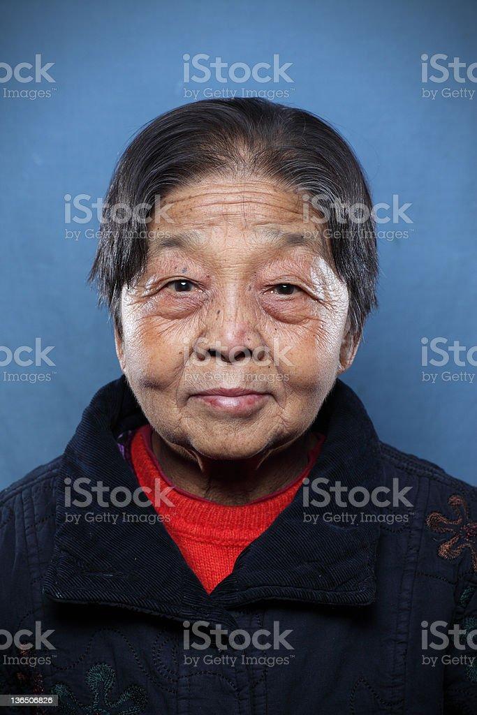 Grandmother royalty-free stock photo