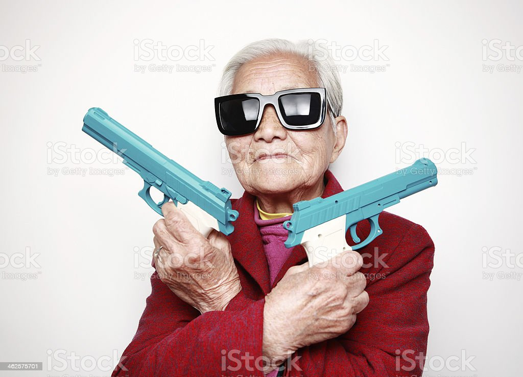 Grandmother stock photo