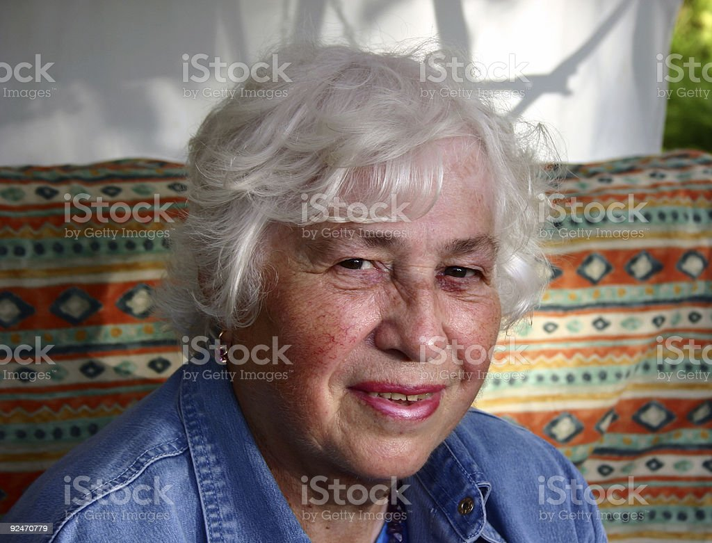 Grandmother. royalty-free stock photo