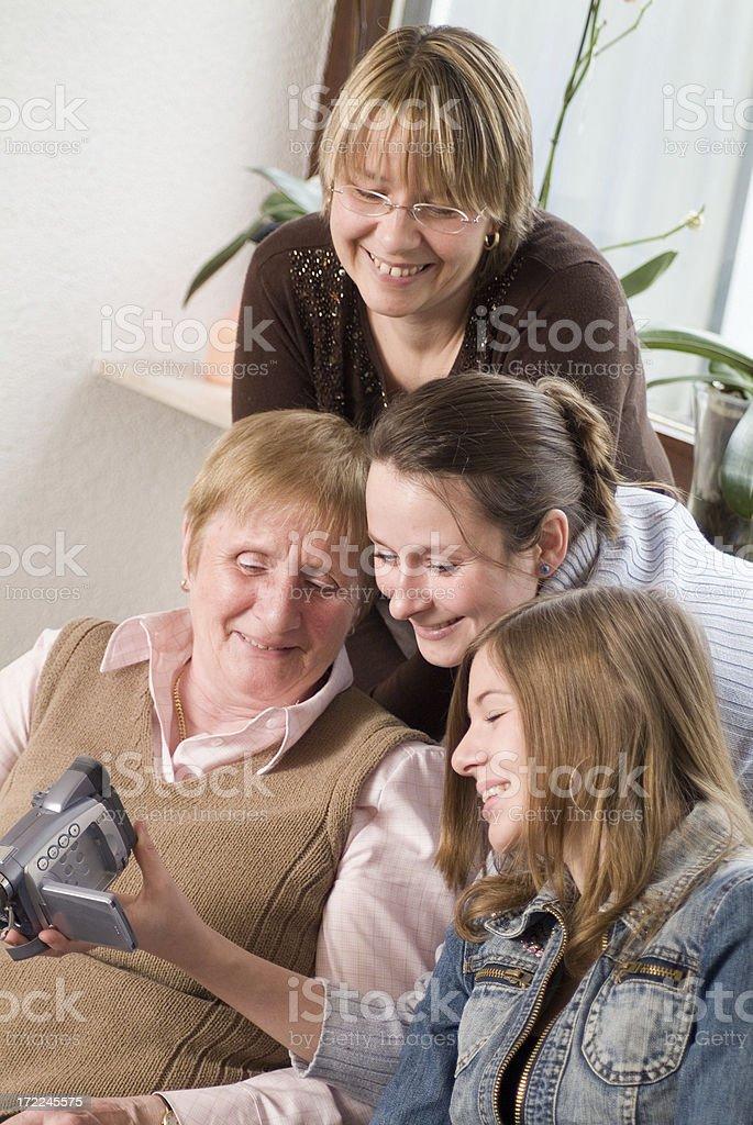 Grandmother Series royalty-free stock photo