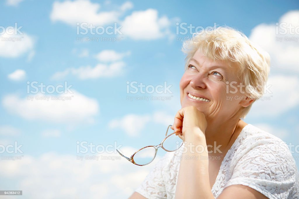 Grandmothers leisure stock photo