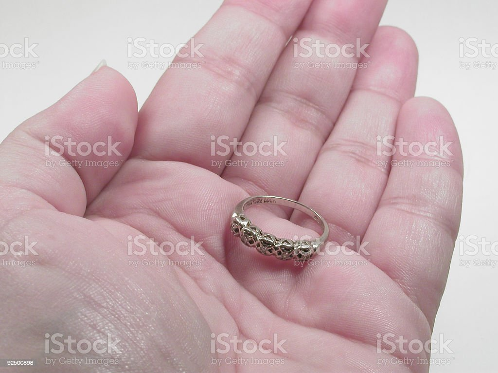 Grandmother's Ring royalty-free stock photo
