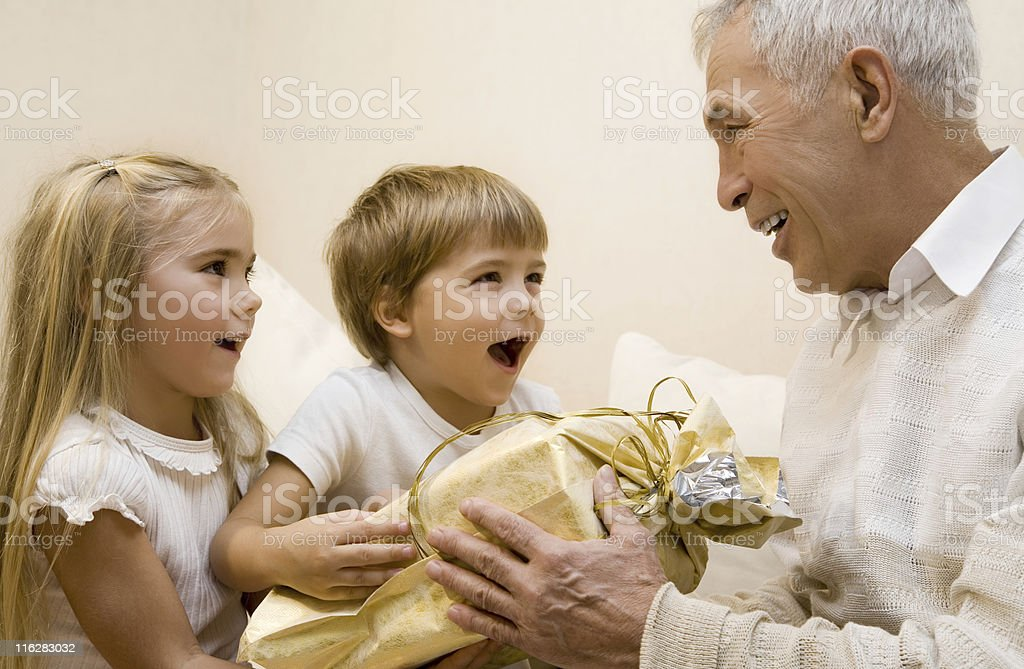 grandpa royalty-free stock photo