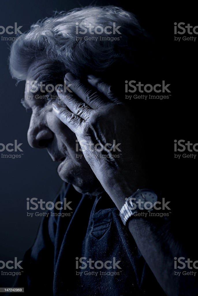Grandpa royalty-free stock photo