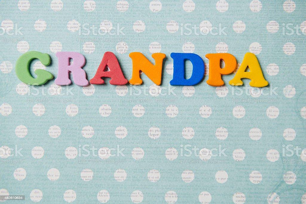 Grandpa stock photo