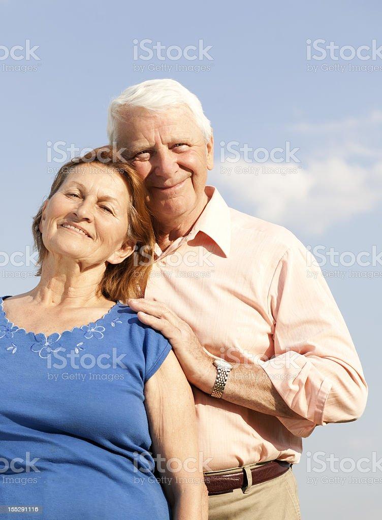 grandparents in love royalty-free stock photo