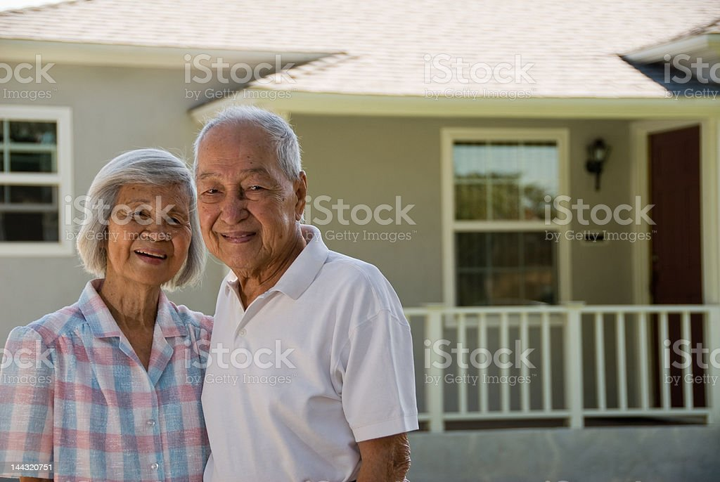 Grandparents - People Series stock photo