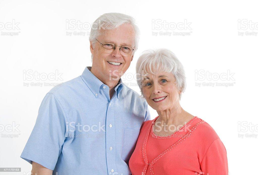 Grandparents royalty-free stock photo