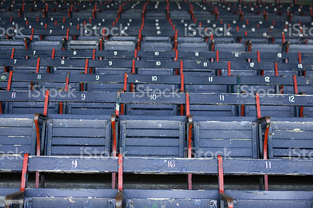 Grandstand at the Ballpark royalty-free stock photo