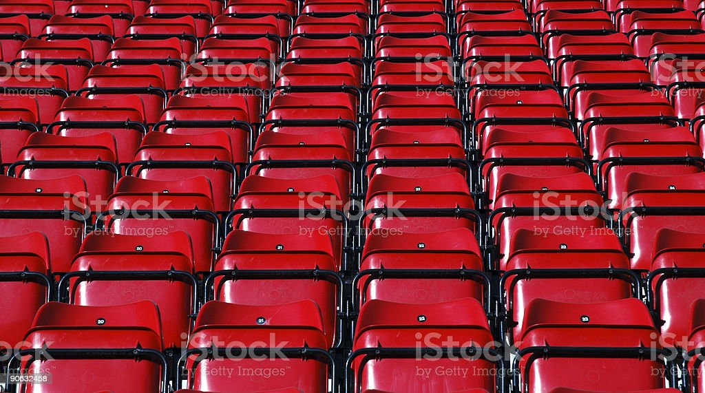 Grandstand Seats #2 royalty-free stock photo