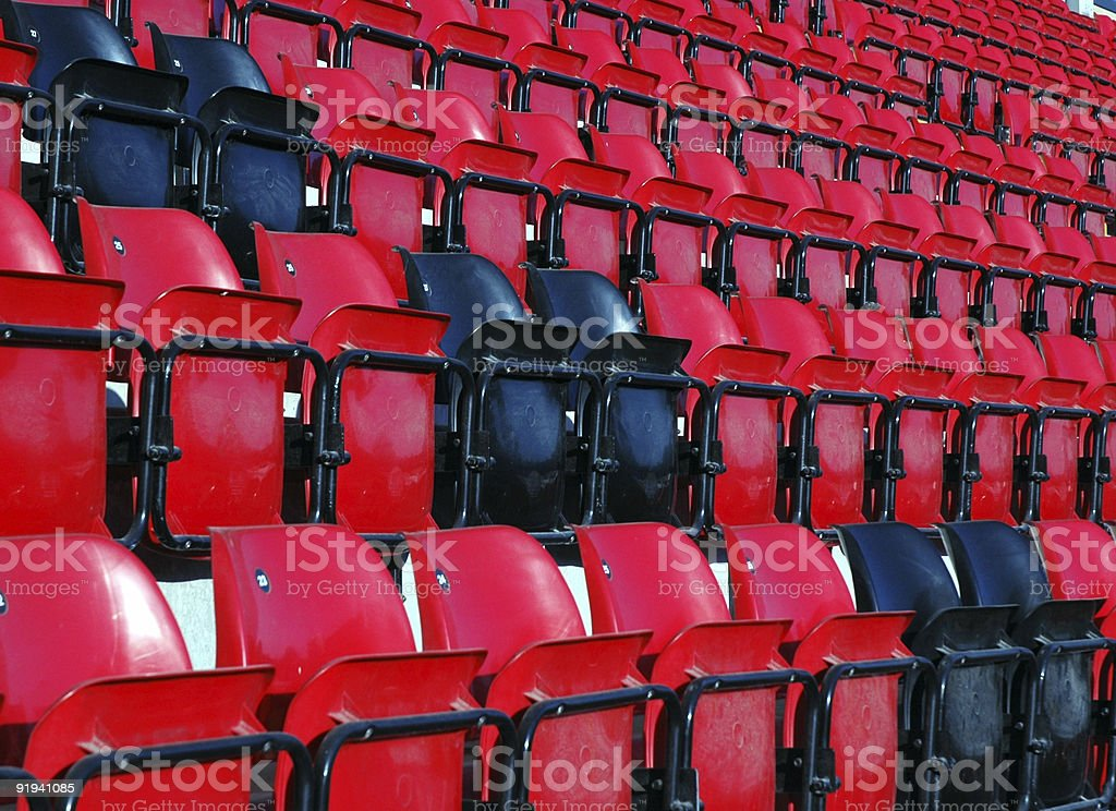Grandstand Seats #1 royalty-free stock photo