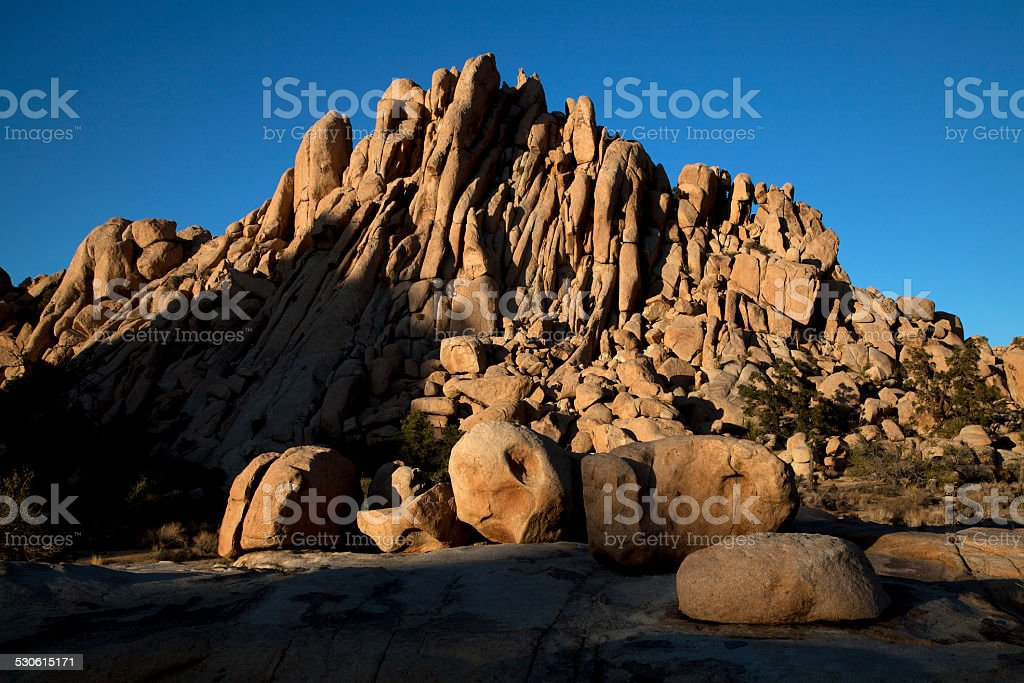 Granite Castle stock photo