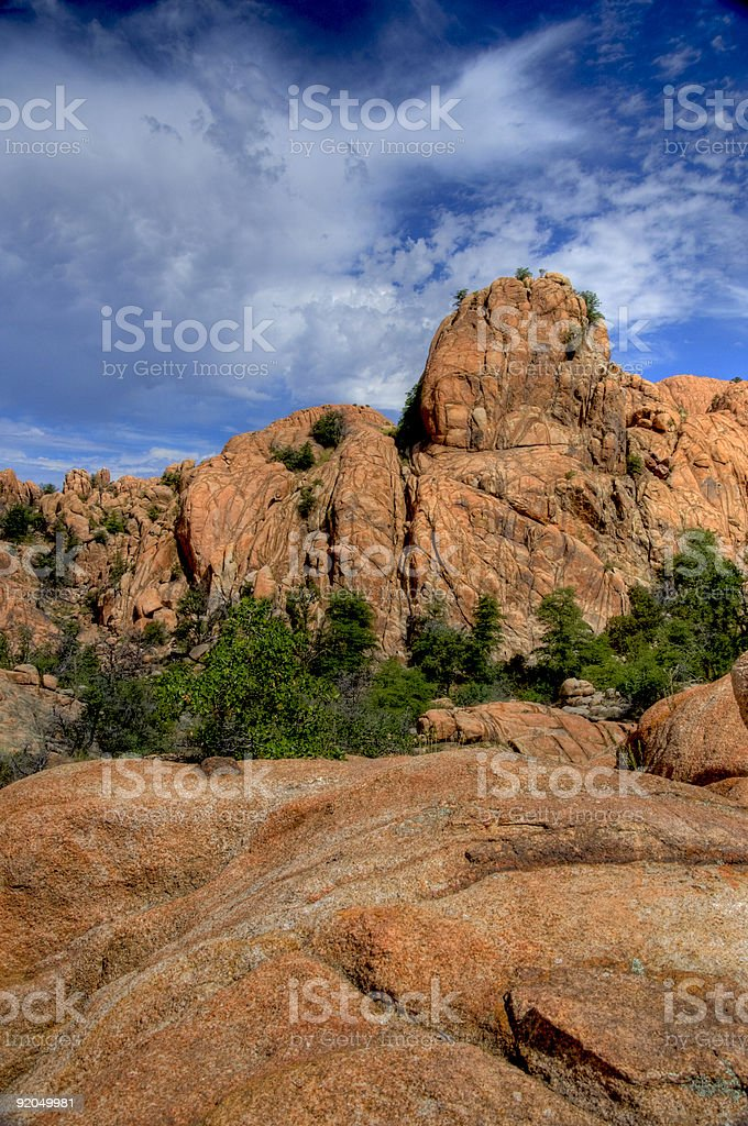 Granite Dells stock photo