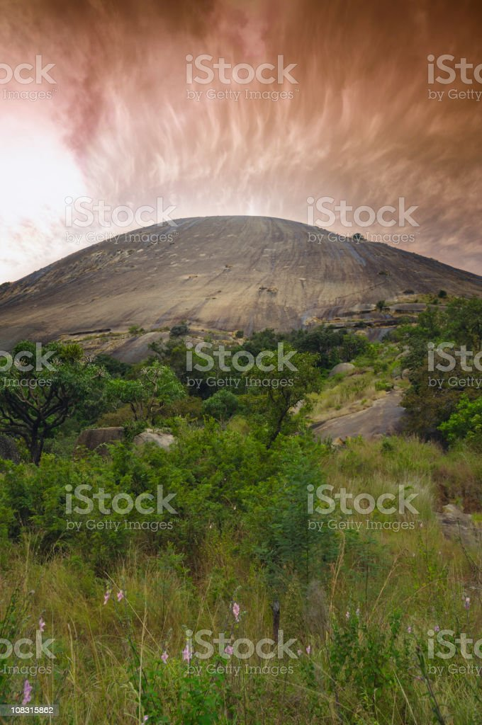 Granite dome stock photo