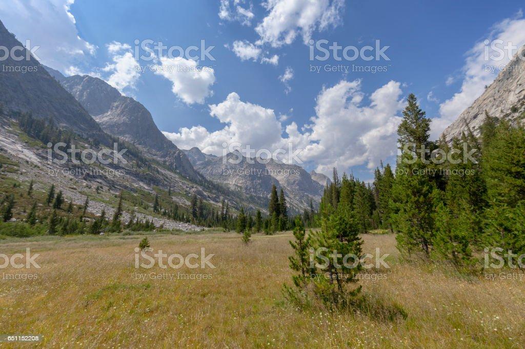 Granite Giants stock photo