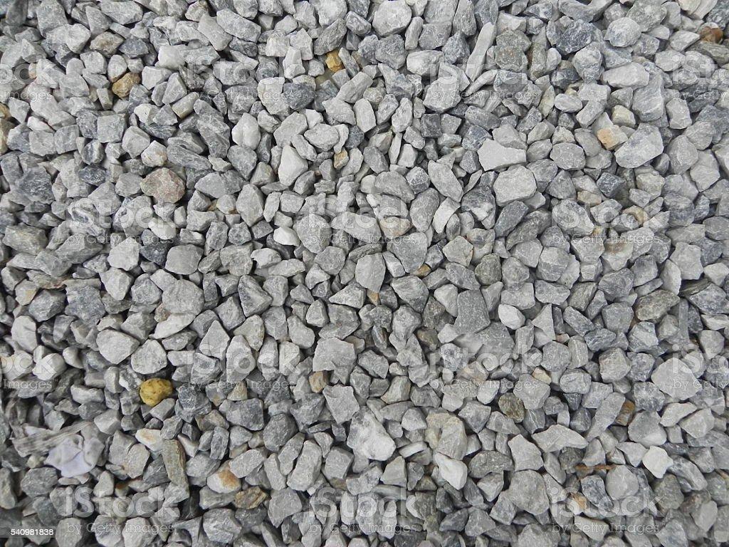 Granite gravel texture stock photo