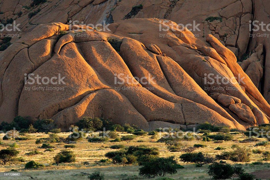 Granite mountain royalty-free stock photo