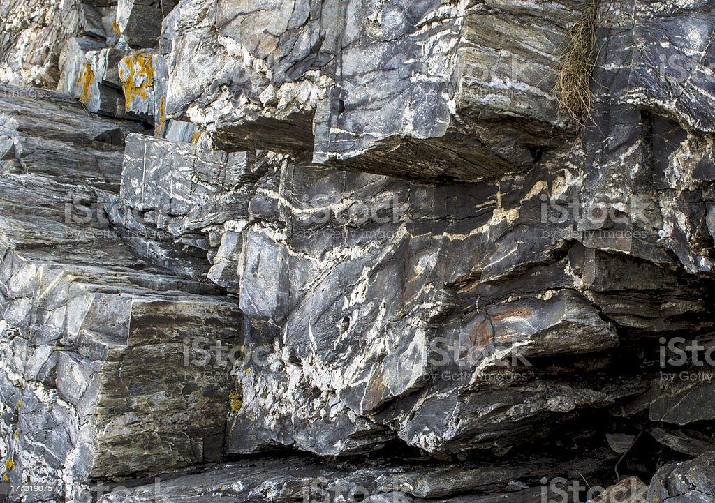 Granite rock stock photo