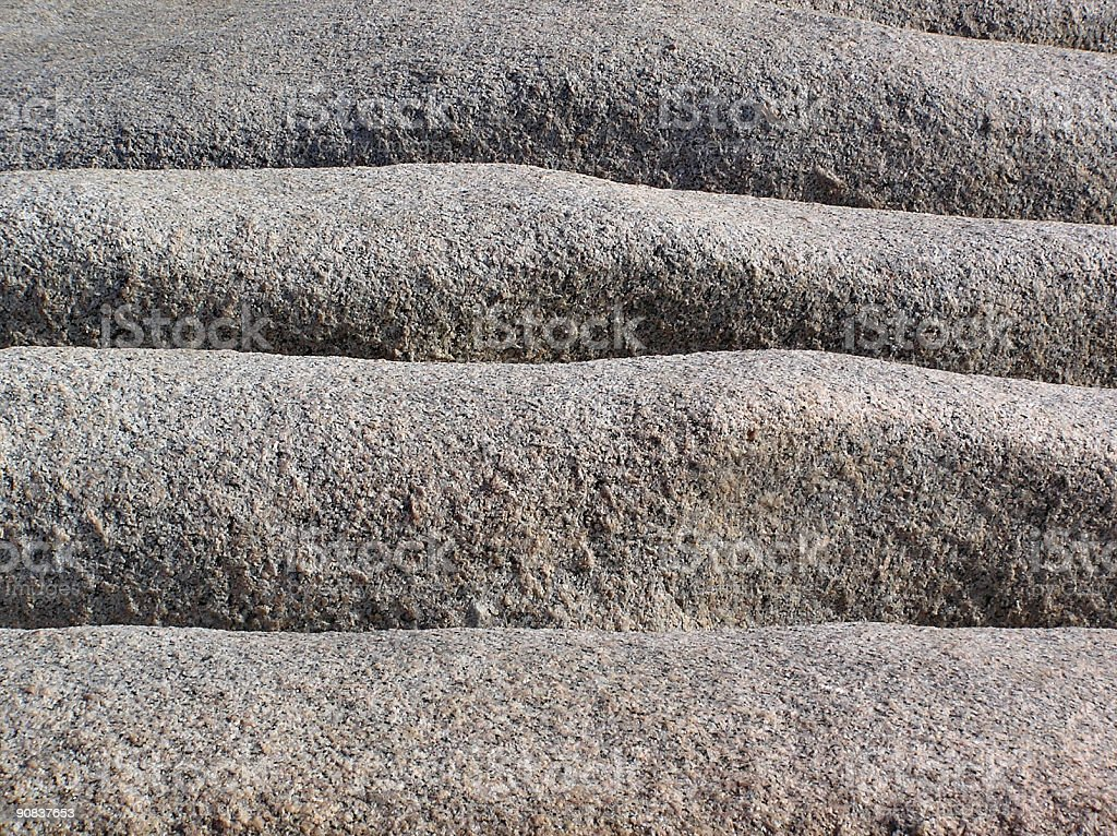 Granite rocks formed by nature royalty-free stock photo