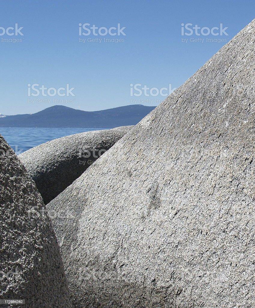 Granite Rocks stock photo