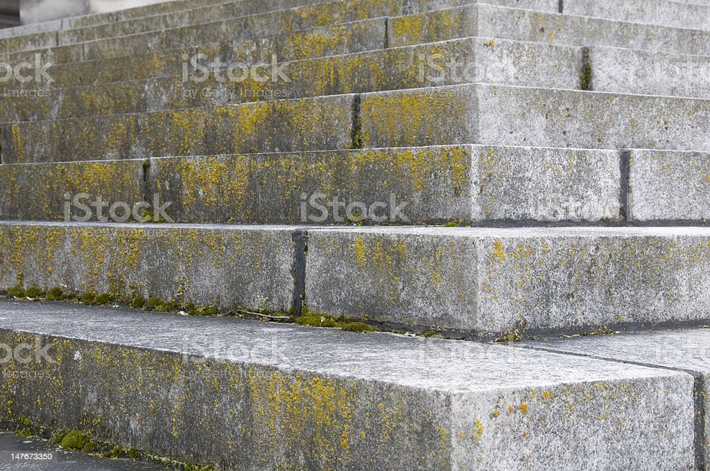 Granite Steps stock photo