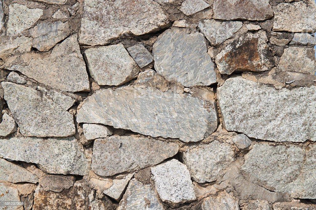 Granite stone wall background royalty-free stock photo